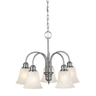 Design House Ridgeway 5-Light Shaded Chandelier