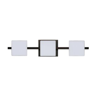 Latitude Run Catella 3-Light Glass Vanity Light