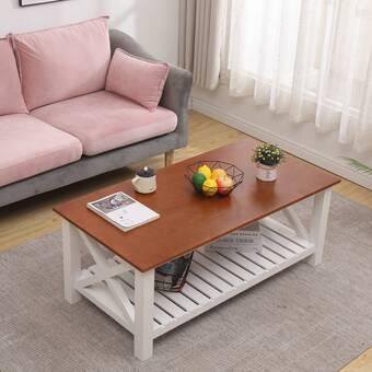 Latitude Run Chevala Coffee Table With Storage Wayfair