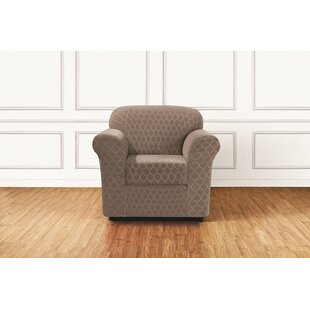 Stretch Grand Marrakesh Box Cushion Armchair Slipcover by Sure Fit