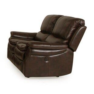 Pleasant Hallowell Dual Power Reclining Loveseat Machost Co Dining Chair Design Ideas Machostcouk