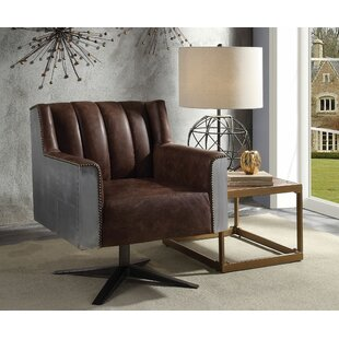Kincaid Genuine Leather Executive Chair by Williston Forge