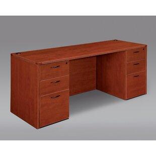 Fairplex Kneehole Executive Desk by Flexsteel Contract