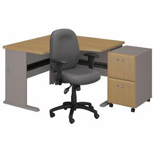 Bush Business Furniture Series A L-Shape Desk