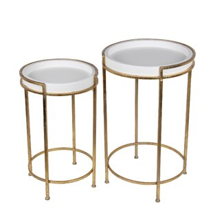 Jerlene 2 Piece End Table Set by Everly Quinn