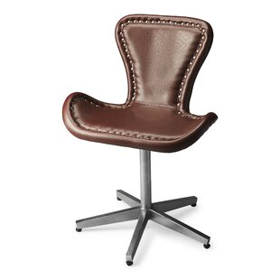 Miceli Genuine Leather Side Chair by Brayden Studio Reviews