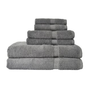 Genesis 6 Piece Bath Towel Set