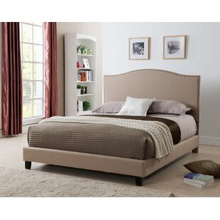 West Tisbury Upholstered Platform Bed by Charlton Home