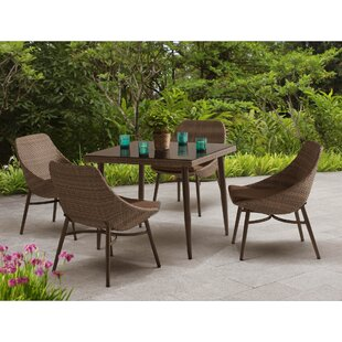 Sunjoy Century 5 Piece Dining Set with Cushions