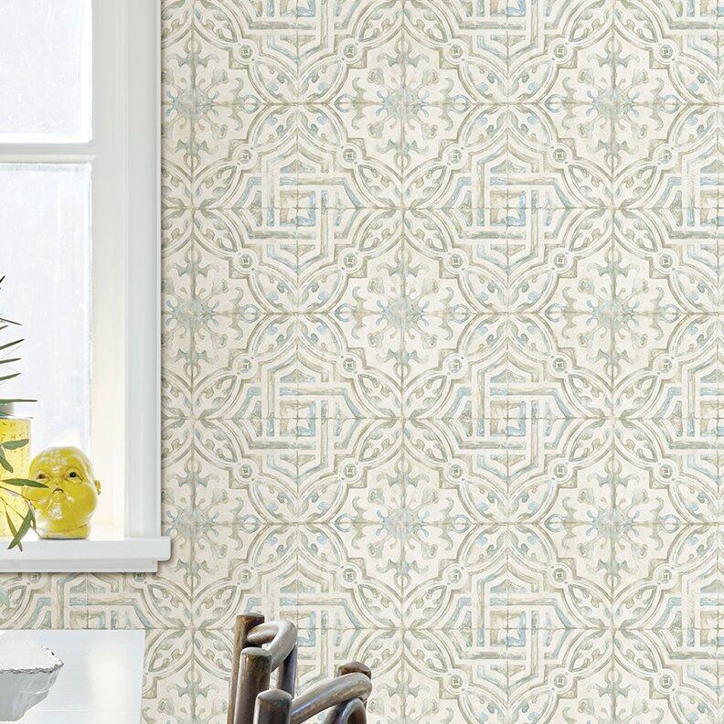 Jovanny Spanish Tile 33 L X 20 5 W