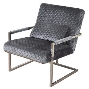 Orren Ellis Stockstill Cantilever Armchair