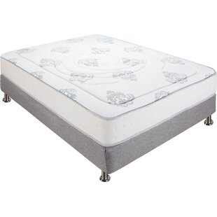 Decker 10.5 Firm Hybrid Mattress By Classic Brands