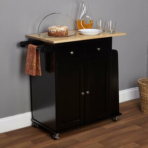 Black Kitchen Islands Carts You Ll Love Wayfair