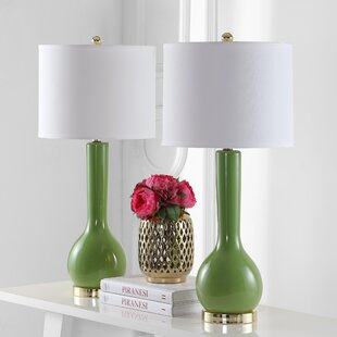 Green table lamps youll love wayfair save aloadofball Image collections