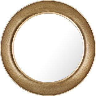 Bloomsbury Market Batista Round Plain Accent Mirror
