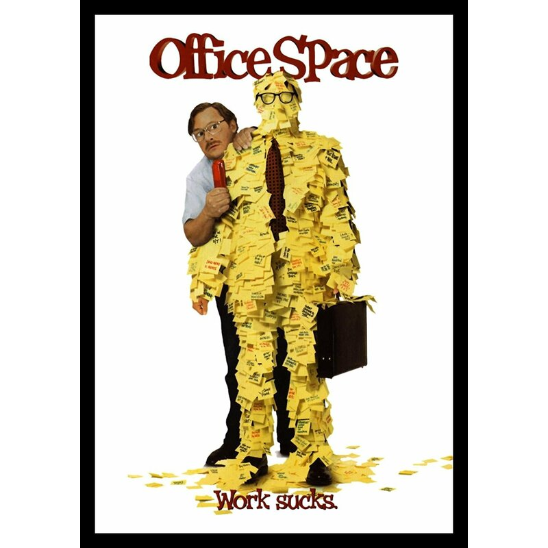 Buy Art For Less Office Space Stephen Root As Milton Waddams