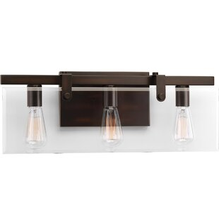 Check Prices Bridgewood 3-Light Vanity Light By Breakwater Bay
