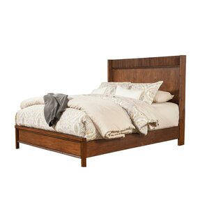 Winebarger Wood Panel Bed by Loon Peak Coupon