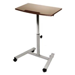Tilting Mobile Adjustable Standing Desk by Seville Classics