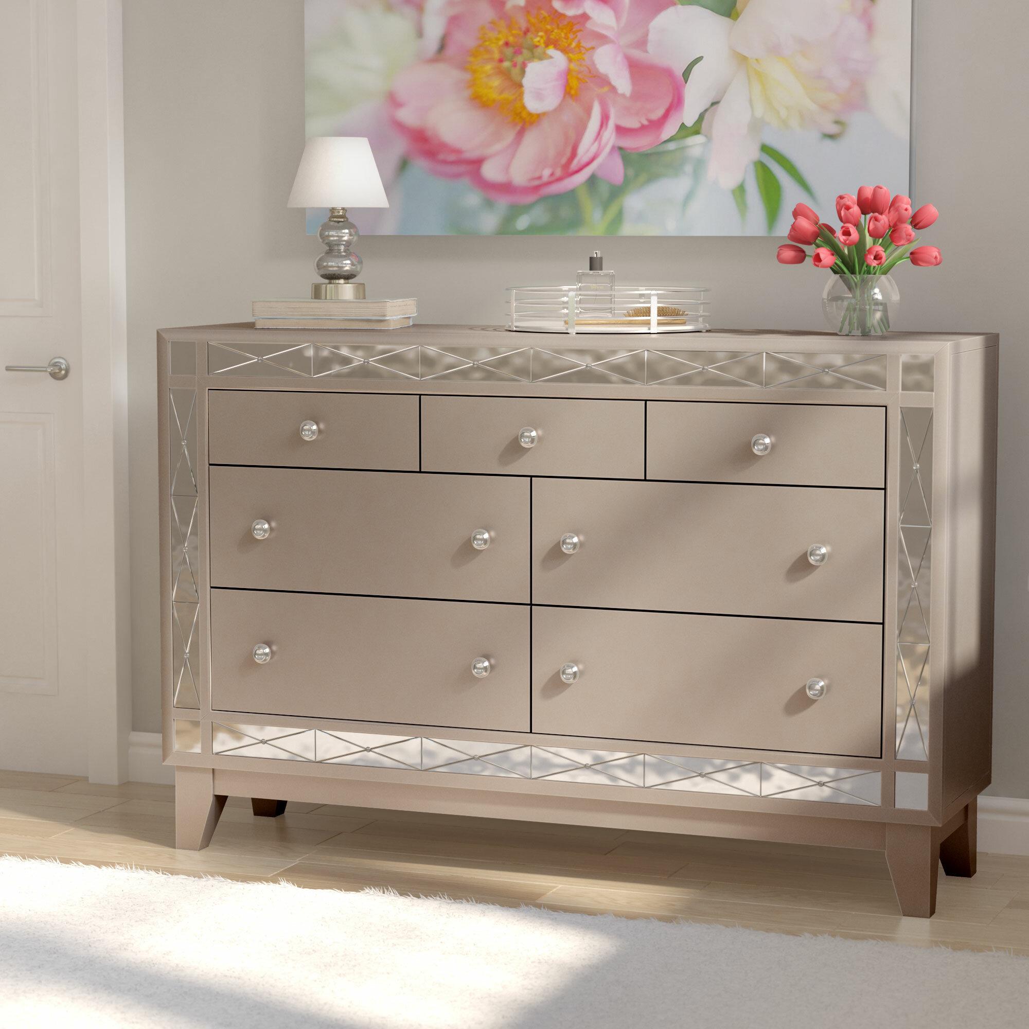 Willa arlo interiors alessia 7 drawer dresser reviews wayfair
