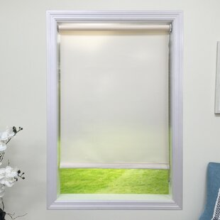 scalloped window shades pull down light cream filtering roller shade scalloped shades wayfair