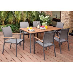 Krystal 7 Piece Dining Set