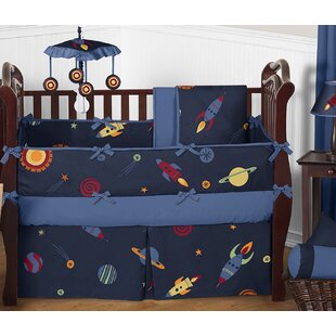 Space Galaxy 9 Piece Crib Bedding Set By Sweet Jojo Designs