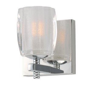 Latitude Run Fiecke 1-Light Armed Sconce
