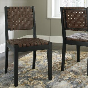 McLaurin Solid Wood Dining Chair (Set of 2) Loon Peak