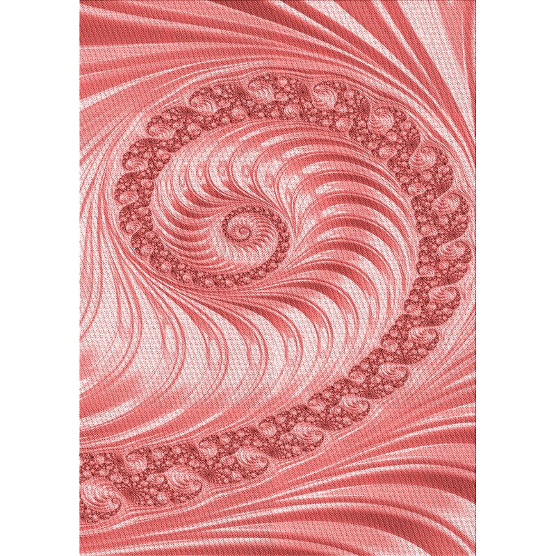East Urban Home Kaster Abstract Wool Red Area Rug Wayfair