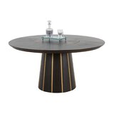Morgan Solid Wood Dining Table by Gabby