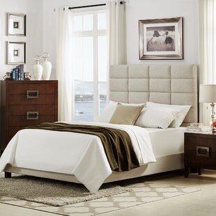 Brayden Studio Rose Upholstered Platform Bed
