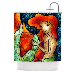 Ariel Shower Curtain