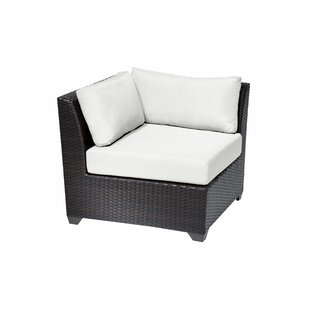 TK Classics Barbados Corner Chair with Cu..