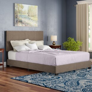 Adrienne Queen Upholstered Panel Bed by Andover Mills New