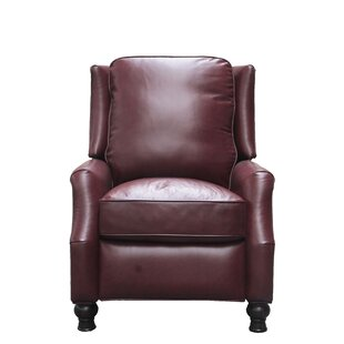 Darby Home Co Emmaleigh Leather Manual Recliner