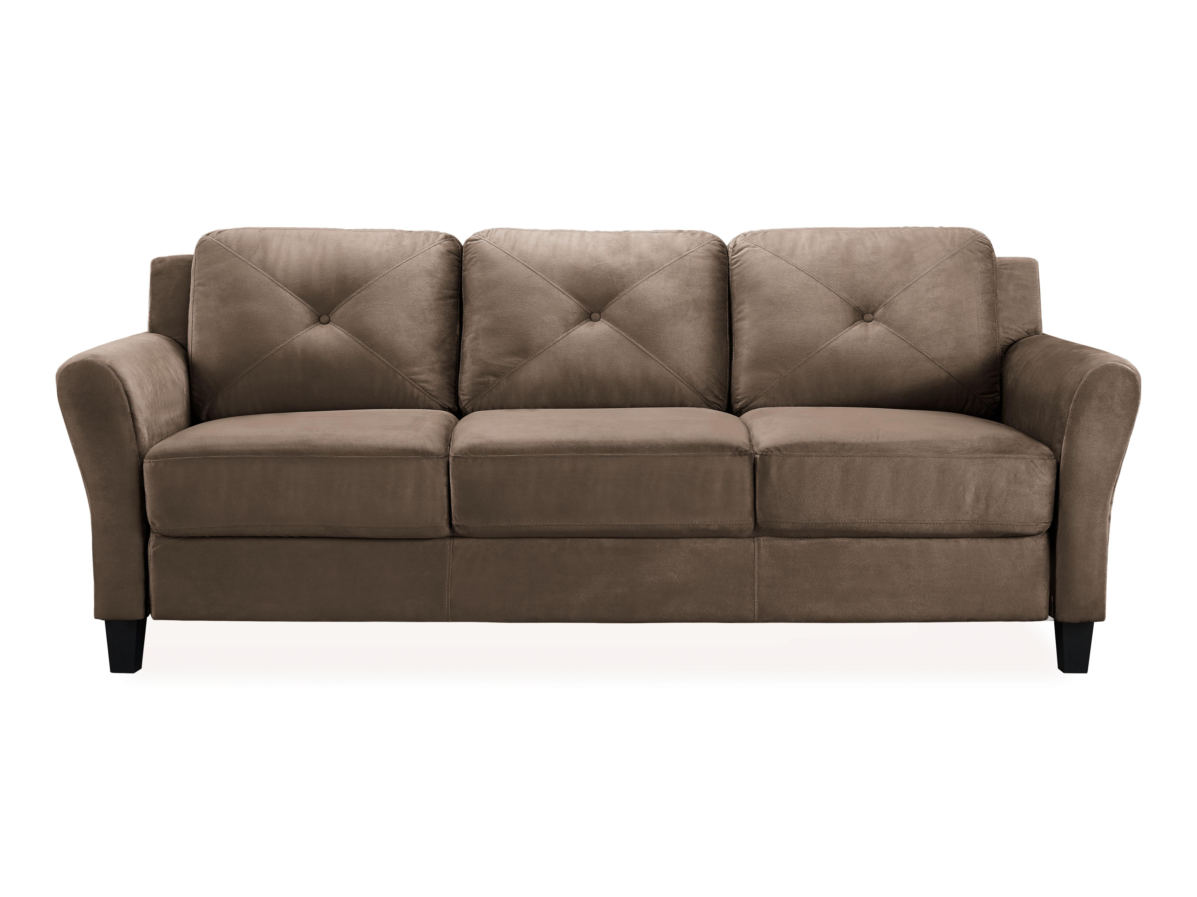 Floor Sofas Linen Fabric Upholstery Adjule Floor Sofa Bed ...
