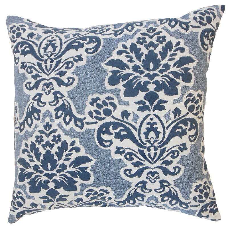 Darby Home Co Chenelle Damask Floor Pillow Wayfair