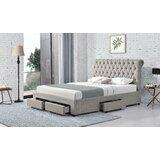 Errwood Tufted Upholstered Low Profile Storage Platform Bed by Red Barrel Studio®