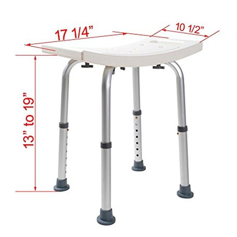 Calhome Adjustable Medical Shower Chair | Wayfair