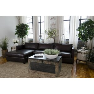 Urban Leather Sectional by Ele..