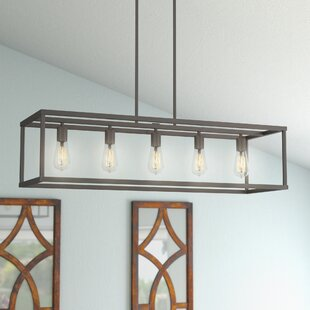 Laurel Foundry Modern Farmhouse Cassie 5-Light Kitchen Island Pendant