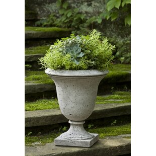 Campania International Linwood Cast Stone Urn Planter