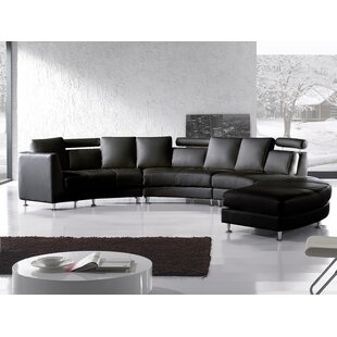 Pittenger Leather Modular Sectional