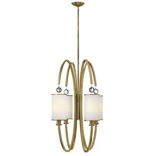 Hinkley Lighting Monaco 4-Light Shaded Chandelier