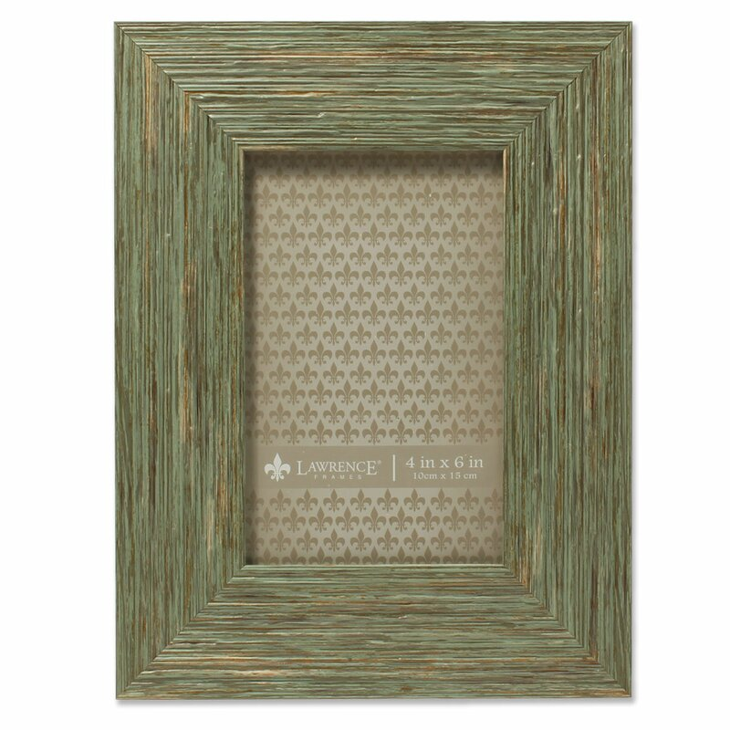 Concepts 4X6 Seashell Decorated White Colored Metal Picture Frame