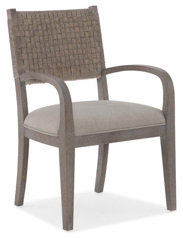 Hooker Furniture Carmel Upholstered Dining Arm Chair (Set of 2)