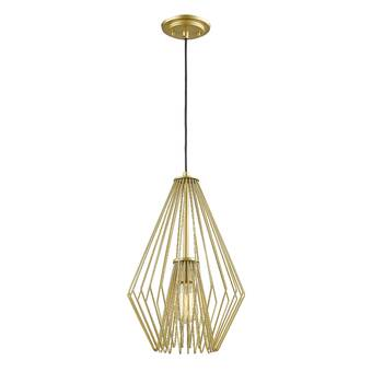Highland Dunes Bjorn 1 Light Single Geometric Pendant Reviews Wayfair