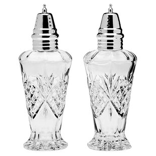 Dublin Crystal Salt & Pepper Shakers