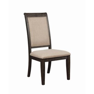 Gracie Oaks Hayle Upholstered Dining Chair (Set of 2)